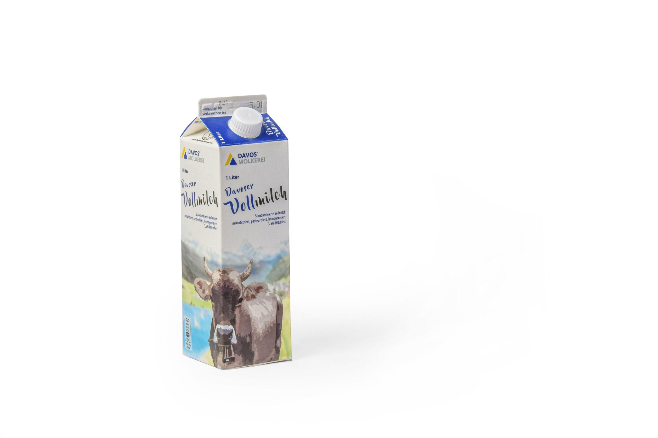 Davoser Milch ist das natürliche Produkt der Landschaft Davos. Sorgfältig verarbeitet, überzeugt Davosermilch durch ihren geschmackvollen Gehalt. 3.5% Milchfett.